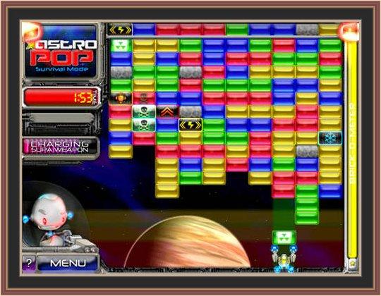 Astropop Deluxe pc Game Play ScreenShot.No1