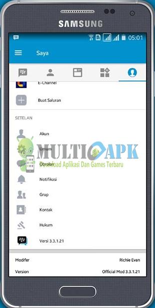 BBM Mod Official v3.3.1.21 APK Android