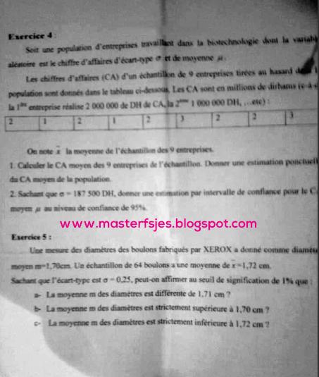 Master Gestion des Risques Financiers et Assurantiels (GRFA) 2011