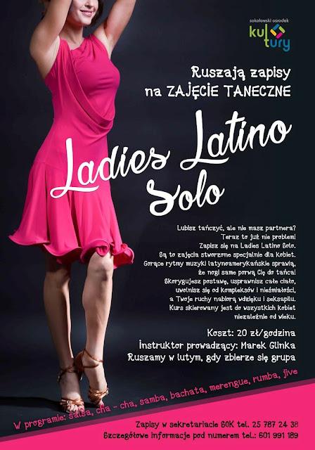 Ladies Latino Solo - Sokołowski Osrodek Kultury