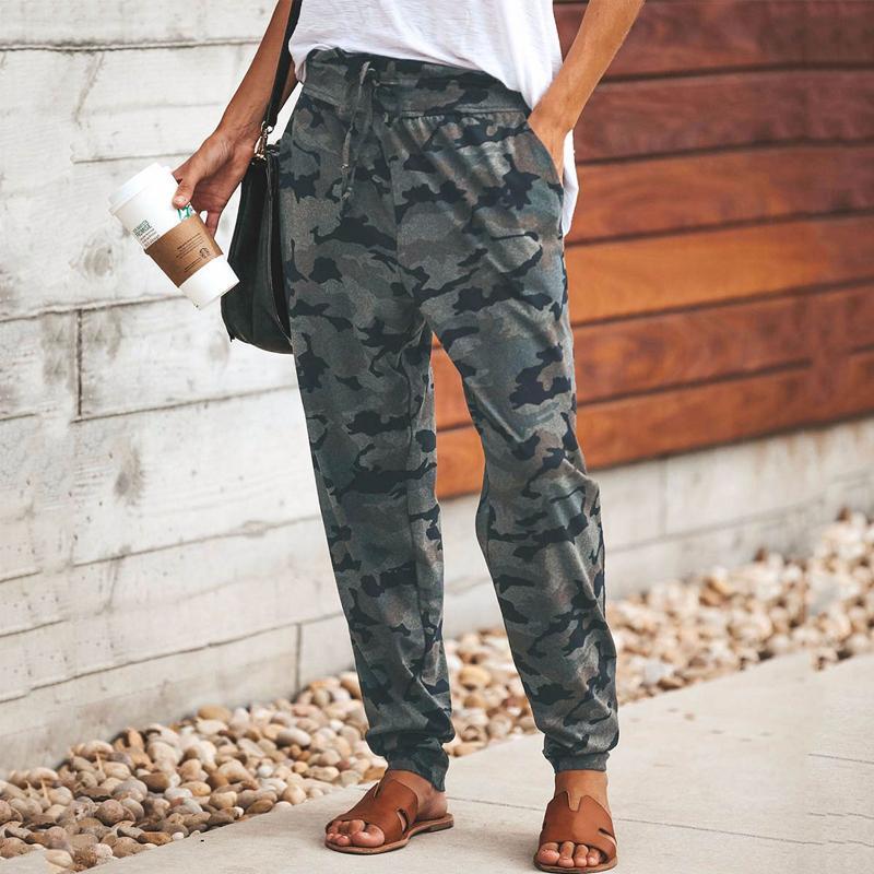 Fashion Camouflage Slim Casual Pants - $19.99
