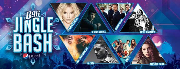 Estos son los artistas confirmados para el Jingle Bash