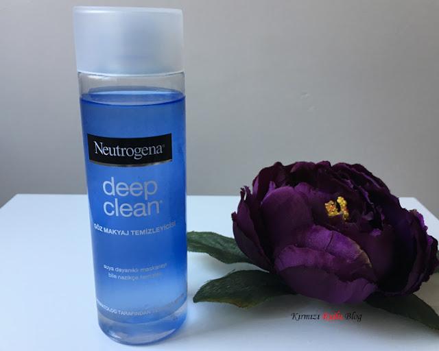 Neutrogena Deep Clean Göz Makyaj Temizleyicisi