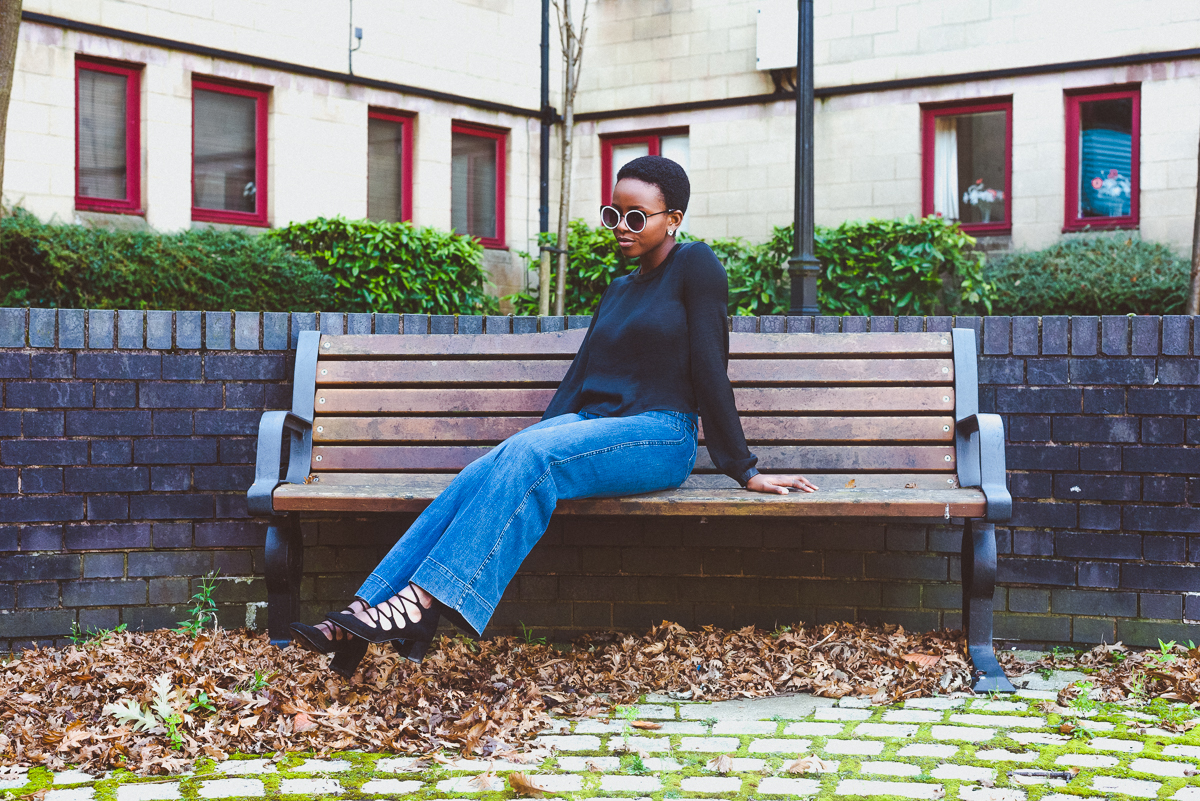 How to style bootcut jeans by Oroma Roxella Rukevwe | www.orrblog.net