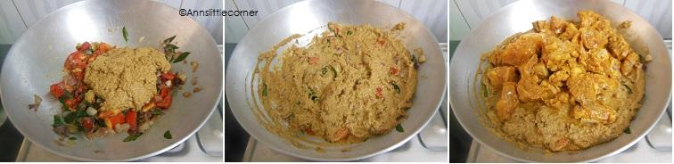 How to make Chettinad Chicken Gravy- Step 5