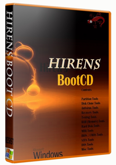 Hiren's Boot CD 15 2 Rebuild All in One Bootable CD ~ Upload