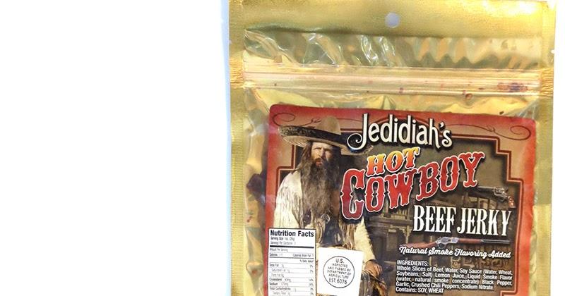 Jedidiah S Jerky Hot Cowboy Beef Jerky Reviews