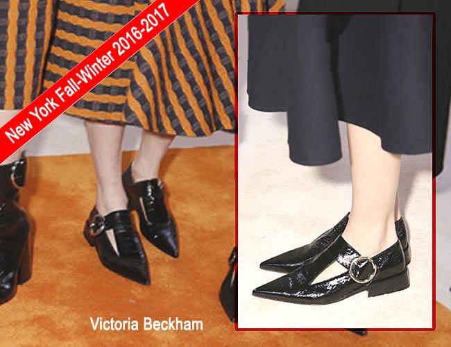 Model sepatu wanita terbaru FW 2016-2017 Victoria Beckham