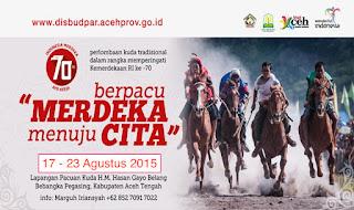 Pacuan Kuda, Destinasi Wisata Paling Bergengsi di Aceh