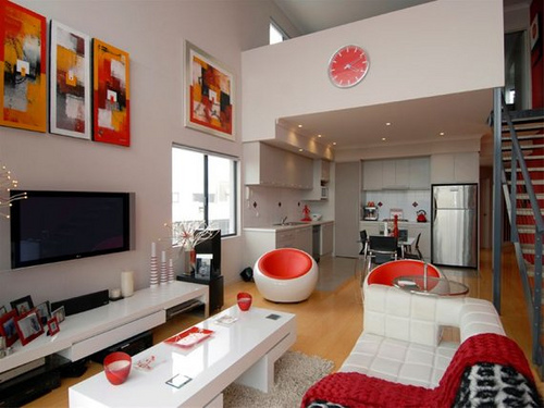 Immagini arredo e foto soggiorno moderno for Soluzioni arredo