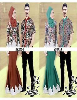 Model Baju Batik Couple Untuk Wanita Gemuk