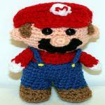 patron gratis Super Mario Bros amigurumi