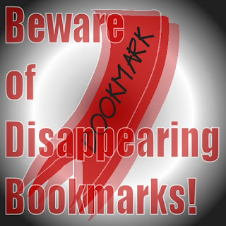 beware of disappearing bookmarks
