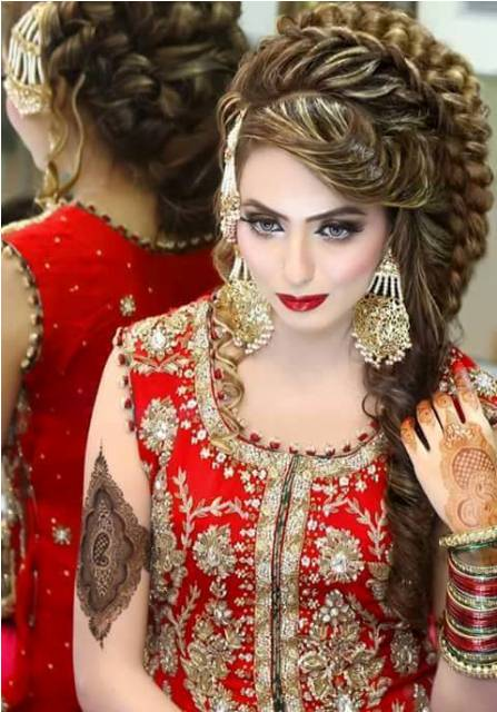 stylish-bridal-hairstyle-for-long-hair-for-women-2016-1