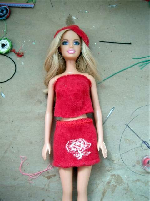 fe85e5c7db40 Ropa para Barbie: Rapido, facil y paso a paso ...