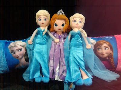 Boneka Frozen