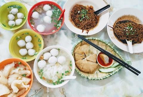 【雪隆美食】金满满茶餐室 Kedai Makanan Jin Man @ Taman Taynton View | 弹牙的西刀鱼丸粉