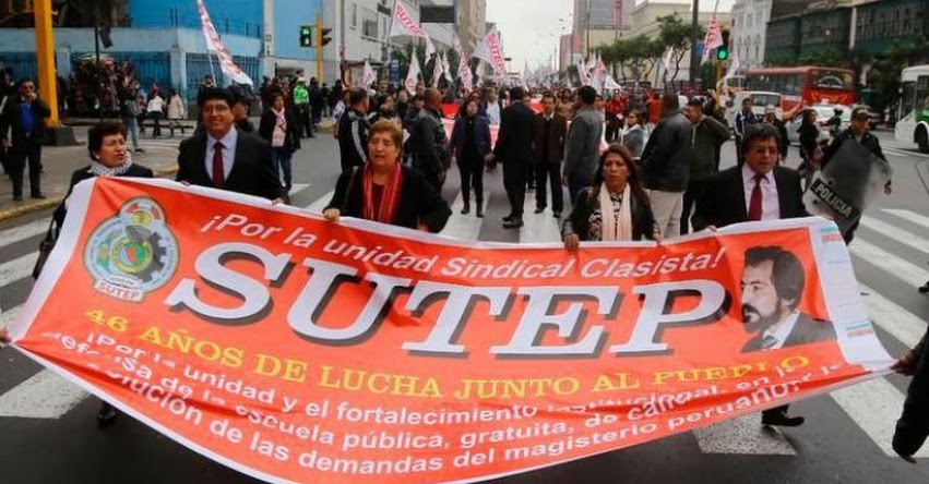 SUTEP se opone a propuestas de presidente Vizcarra sobre la Derrama Magisterial