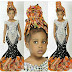 Little Girl Rocks Huge Ankara Braids To Mark Her Birthday