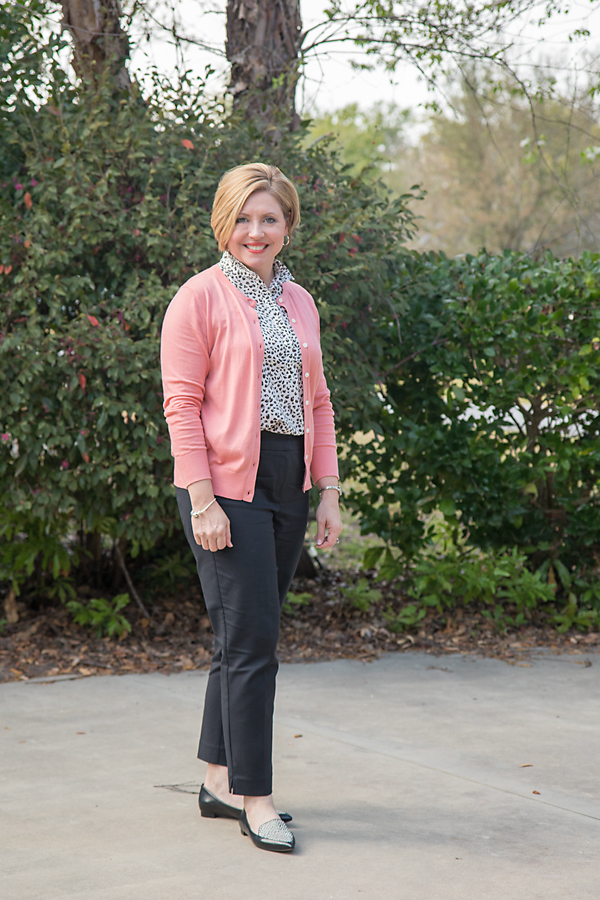Ankle pants for work and a fit tip