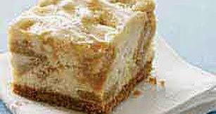 Gina S Italian Kitchen Golden Caramel Cheesecake Bars