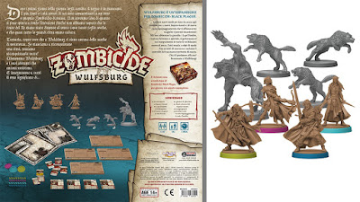 Zombicide Black Plague - Wulfsburg (retro box + miniature)