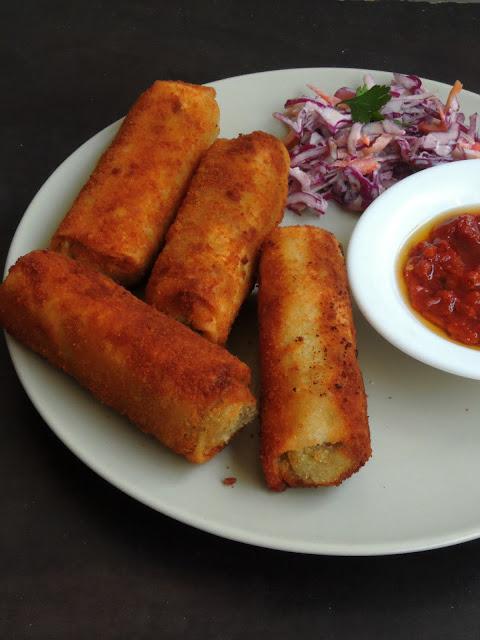 Srilankan Minced Meat Rolls, Srilankan Rolls