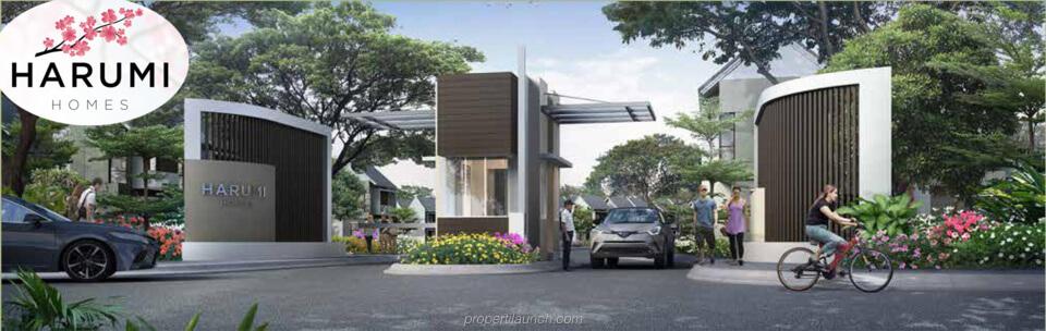 Gate Harumi Homes Sekar