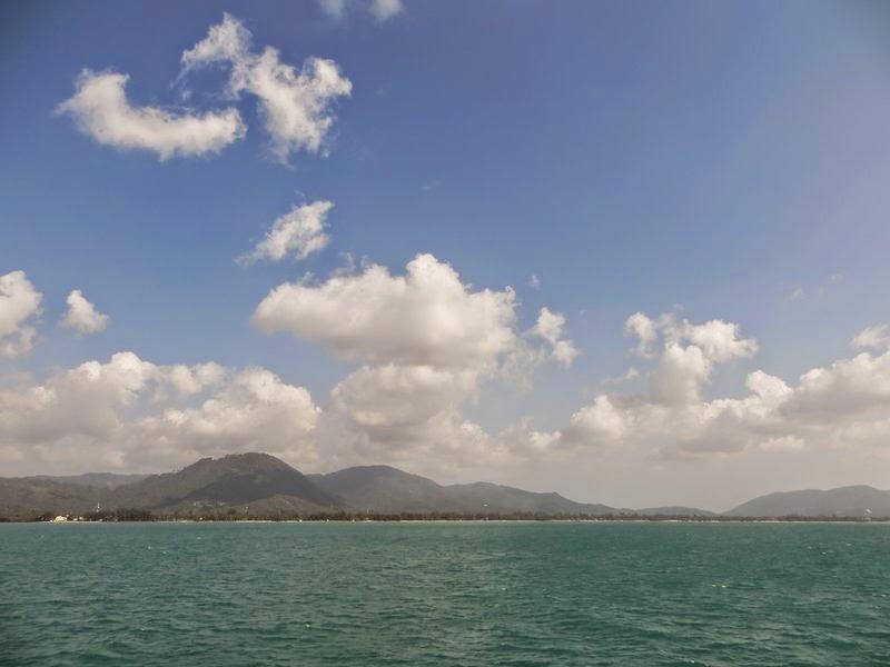 Самуи фотография с моря