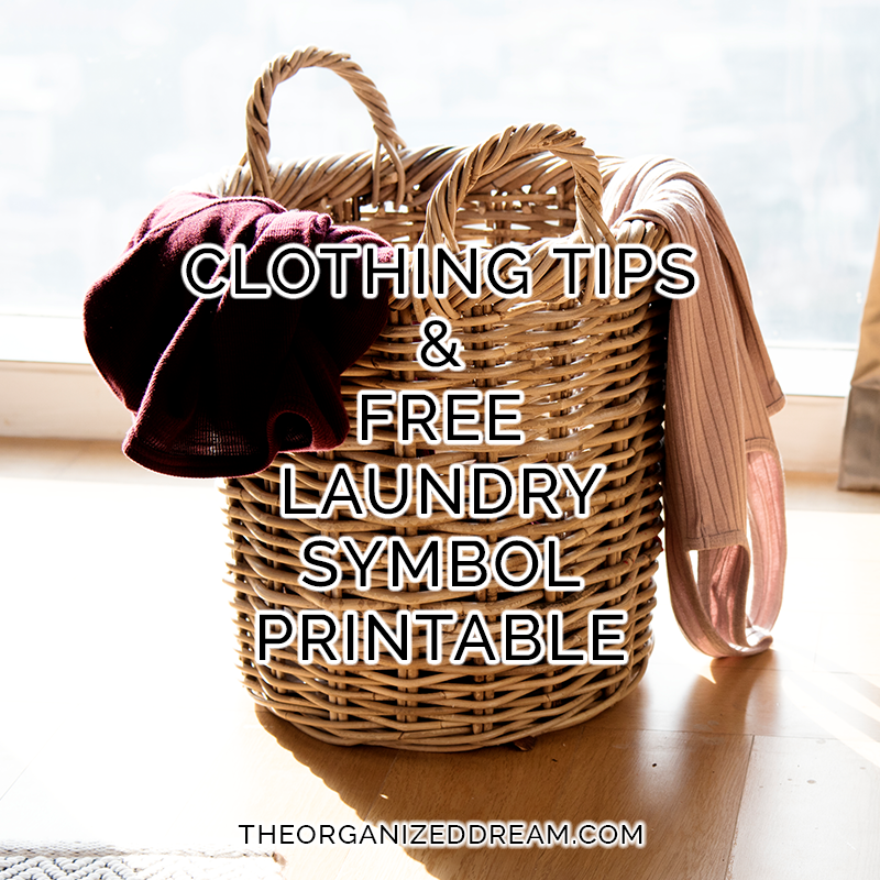 graphic relating to Printable Laundry Symbols called Clothes Pointers Absolutely free Laundry Emblem Printable - The