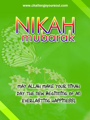 My Sweet Islam Nikah Mubarak Happy Marriage Greetings