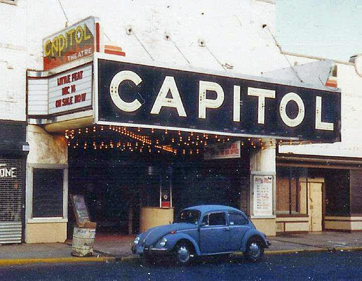 The Capitol Theatre in Passiac, New Jersey