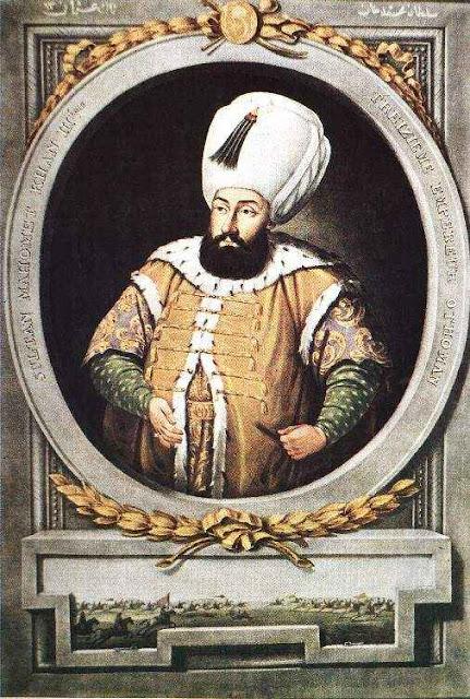 O sultão Maomé III.