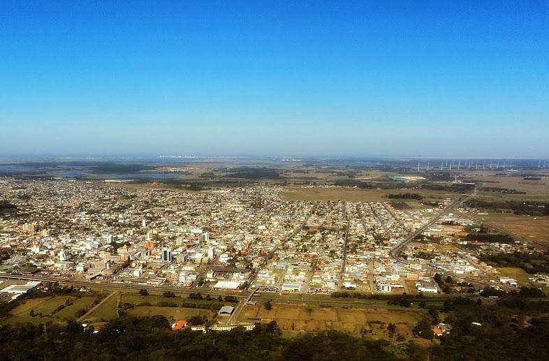 Cidade de Osório e Parque Eólico