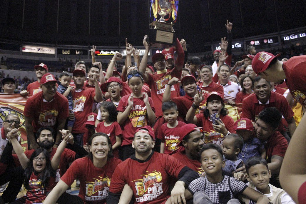 San Miguel wins 2018 PBA All Filipino Cup Title
