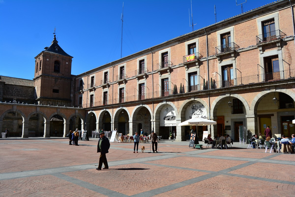 Place du Mercado chico Avila