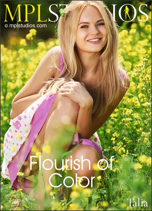 MPLStudios8-03 Talia - Flourish Of Color 03100
