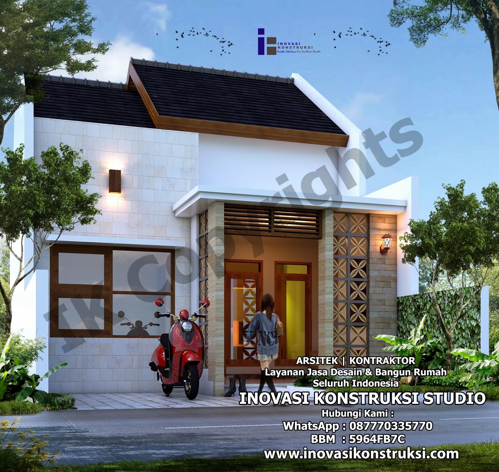Desain Rumah Ibu Rika Di Surabaya Inovasi Konstruksi