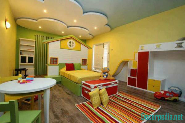 kids room ceiling designs and ideas with lighting
