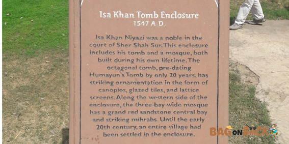 Isa-Khan's-Tomb