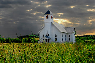 Image result for photo of little white church