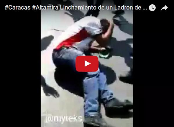 Linchado en Altamira tras asaltar a una mujer embarazada