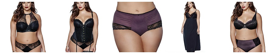 Ashley Graham Underwear Collection, Black Orchid Collection, Plus size underwear, Curvy bras, The Style Guide Blog