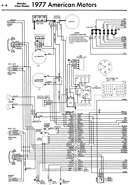 repair-manuals: American Vintage General Wiring Diagrams