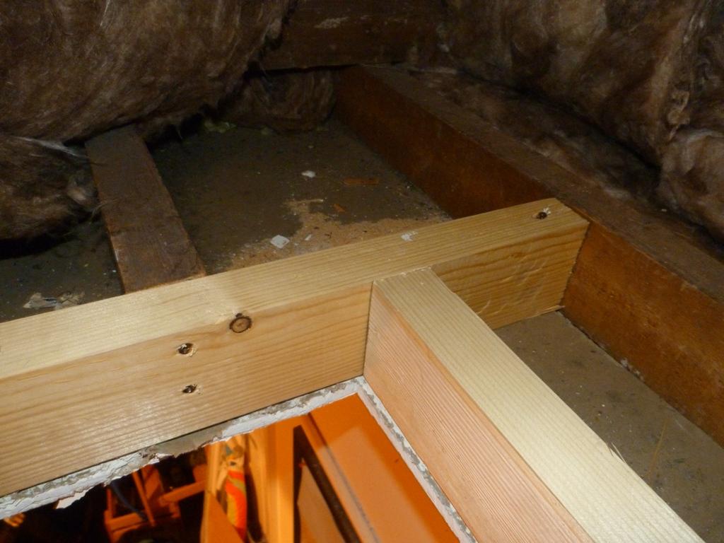 Sawdust In My Socks Fitting A Loft Hatch