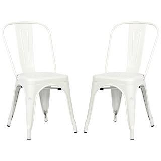galvanized metal chairs