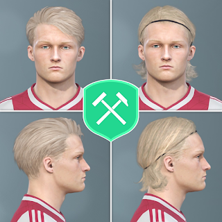PES 2019 Faces Kasper Dolberg by Volun