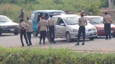 FRSC Oyo State Command Prevents Vehicle Theft as Robbers Flee