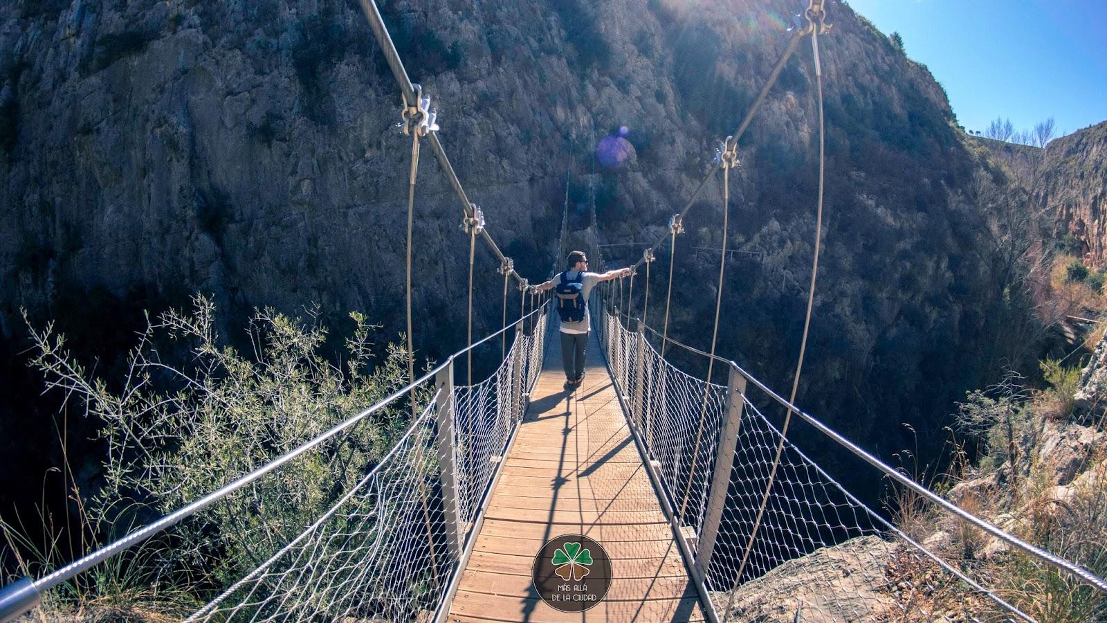 chulilla ruta puentes colgantes