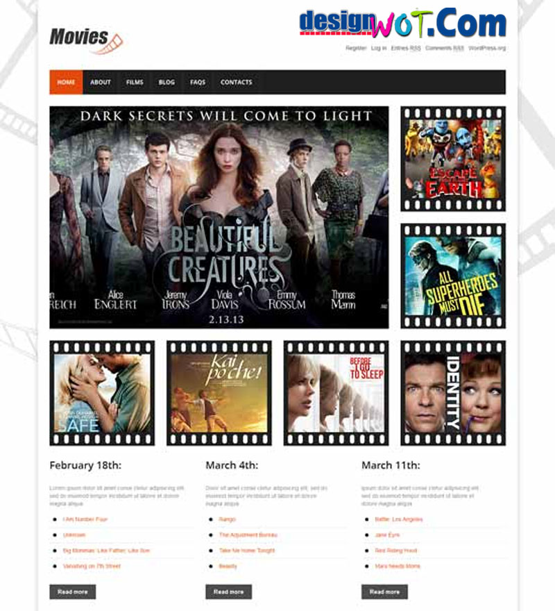 Best Movies Responsive WordPress Themes